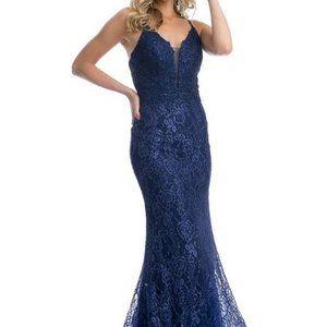 Sweetheart Neck Lace Bodice Prom Dress JT220